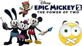 Disney Epic Mickey 2 PC Gameplay - Sem Comentários (No Commentary) PT-BR