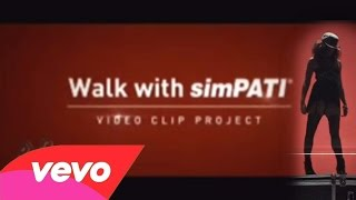 Agnes Monica Iklan Walk With SimPATI Video Project