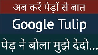 GOOGLE TULIP .......CAN SPEAK WITH PLANTS | April Fool