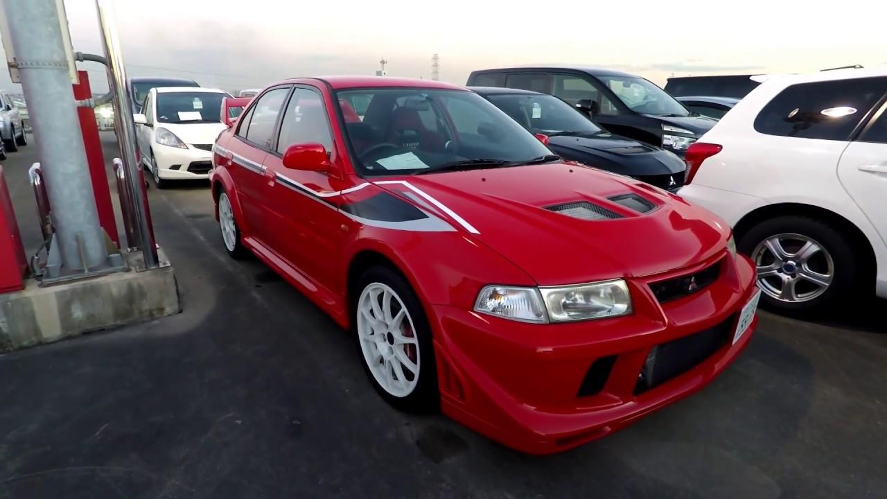 2000 Mitsubishi Lancer Evolution 6.5 Tommi Makinen Edition At Japan (JDM)  Car Auction