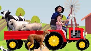 Old MacDonald Had A Farm Song! | Nursery Rhymes & Kids Songs