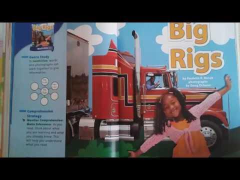 Big Rigs A First Grade Short Vowel I Sound Story