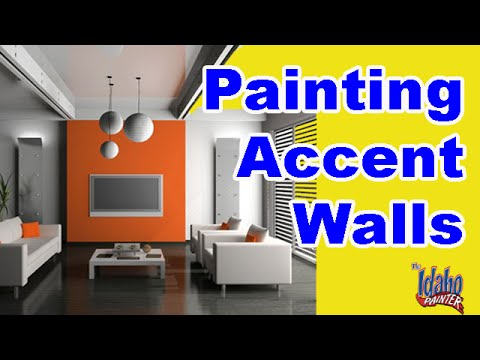 How To Paint An Colored Accent Wall Home Improvement Painting Tips