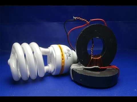 Light bulbs 220 V , Using two Magnets  Free energy generator -  Science at home
