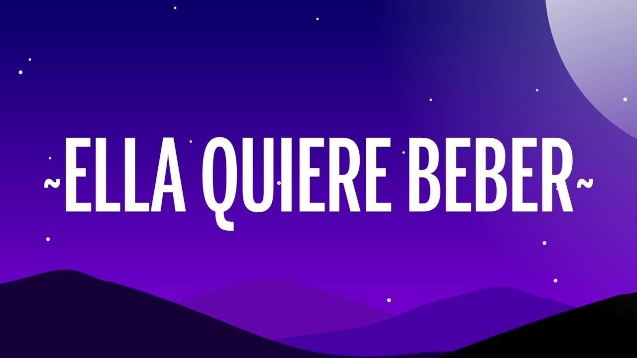 Anuel AA - Ella Quiere Beber Remix (Letra/Lyrics) ft. Romeo Santos