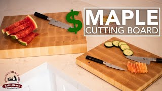 Make Money With These Simple Maple End Grain Cutting Boards