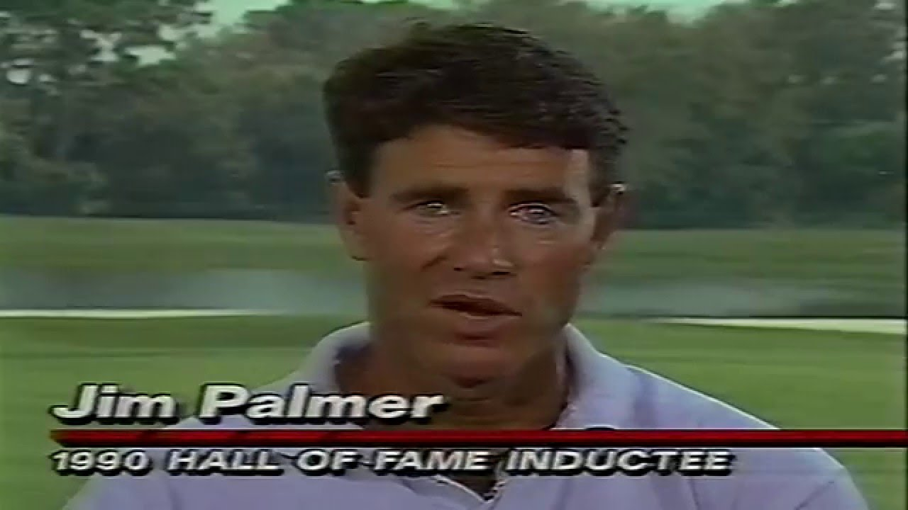 Frank Gifford ABC WW Of Sports Jim Palmer Interview 1991