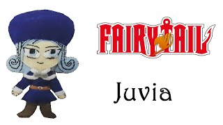 Fairy Tail: How To Make Juvia Plushie Tutorial