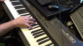 """""""Waves"""" By  The Dear Hunter. Solo  Piano Cover By Alan Goldberg"""