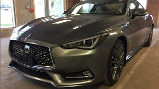 2017 infiniti q60 coupe 2dr cpe 3 0t red sport 400