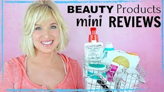 Beauty Products MINI REVIEWS! Makeup, SKIN CARE, Hair Care + Body Care!