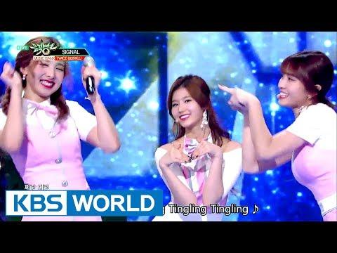 TWICE (트와이스) - SIGNAL [Music Bank HOT Stage / 2017.06.02]