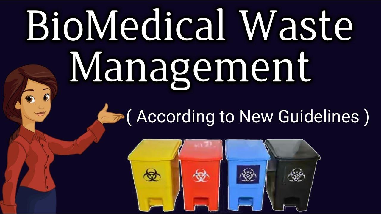 BioMedical waste Management    Hospital Waste Management - YouTube