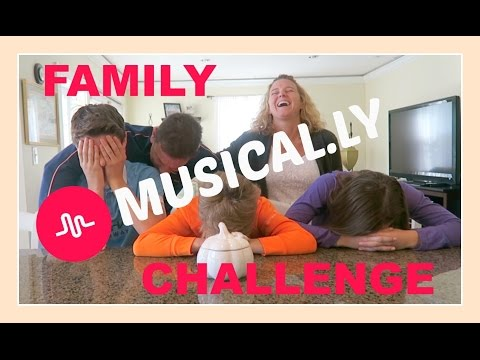FAMILY MUSICAL.LY CHALLENGE | SURPRISE CHALLENGE | Flippin' Katie
