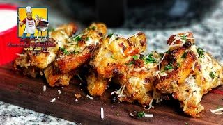 Garlic Parmesan Chicken Wings | Appetizers
