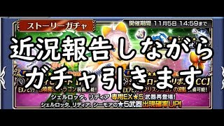【DFFOO】久しぶりのガチャ動画!~近況報告を添えて