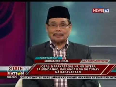 SONA: Panayam kay MILF Chief Negotiator Mohagher Iqbal