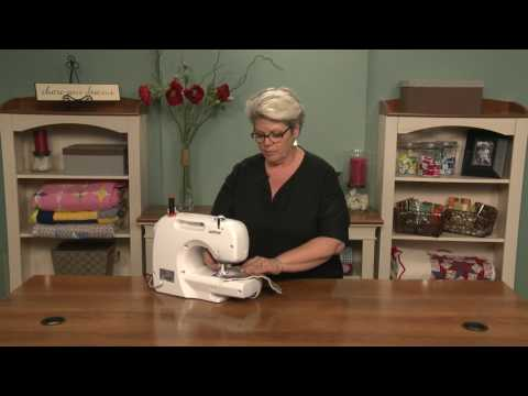 Correcting Sewing Machine Tension for Free Motion Quilting