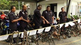 Police nab four mechanics over motorcycle theft