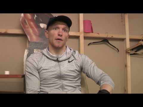 Tom Farrell talks about his local derby with Tommy Carus
