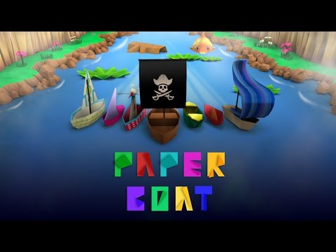 The Paper Boat - Endless Runner Android Casual Game