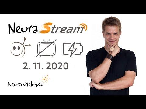 Neurazitelné hodnoty, krysí závod, mediální dieta a dobíjení baterií | NeuraStream #1 - 2. 11. 2020