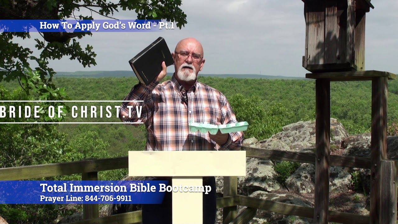 How To Apply Gods Word Pt 1- Discover How To Actually Apply God's Word In Your Life