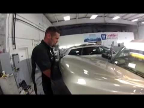 Paintless Dent Removal - Karl Chevrolet Collision Center - YouTube