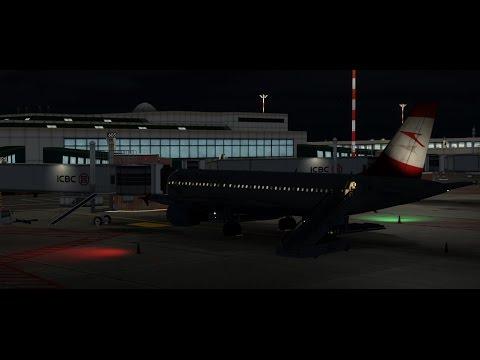 Vienna - Milano | Austrian A320 | P3D