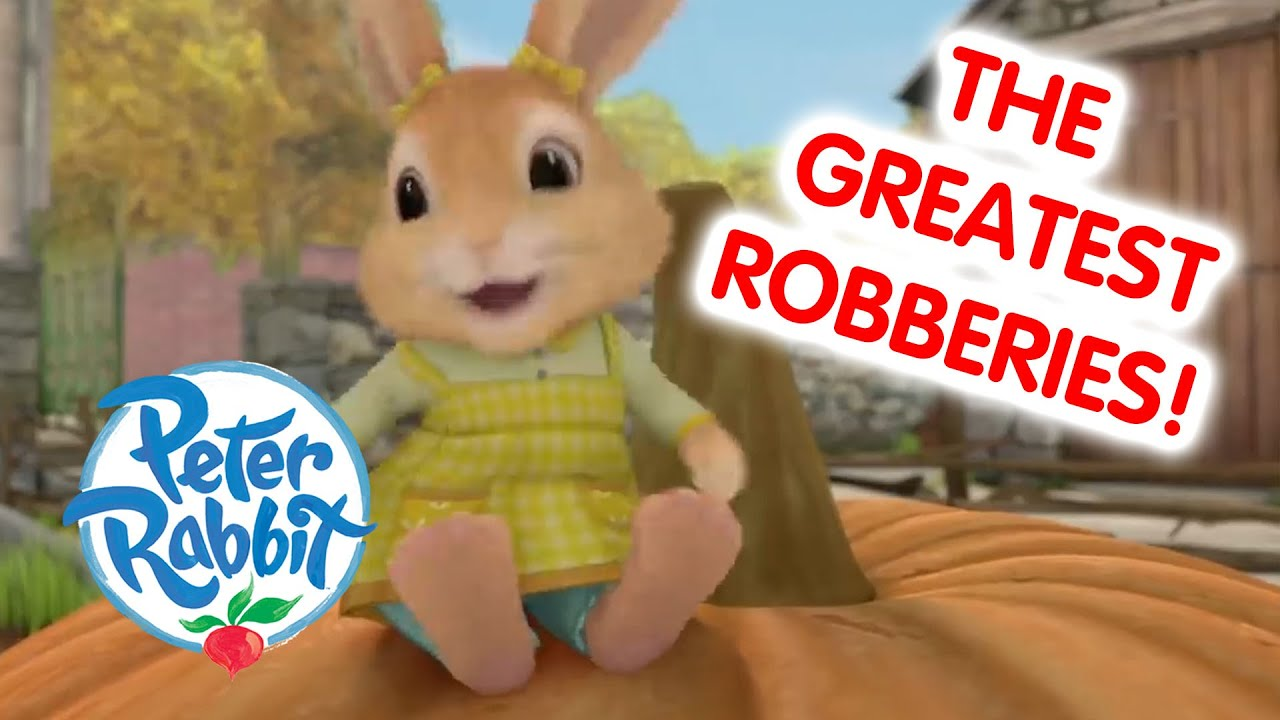 Peter Rabbit Summer Special - The Best Robberies! | Cartoons for Kids
