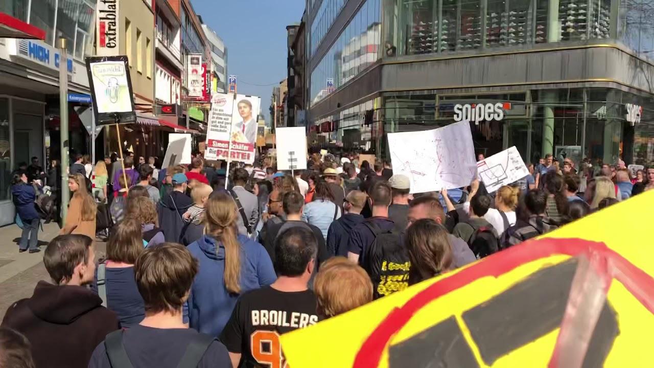 Artikel 13 Demo Karlsruhe
