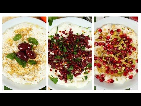 My FAVORITE Healthy Dip 3 Delicious Ways!