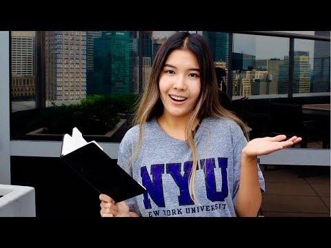 как я поступила в университет Нью-Йорка?