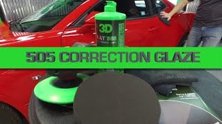 How to use 505 Correction Glaze for polishing and paint repair does not have silicone