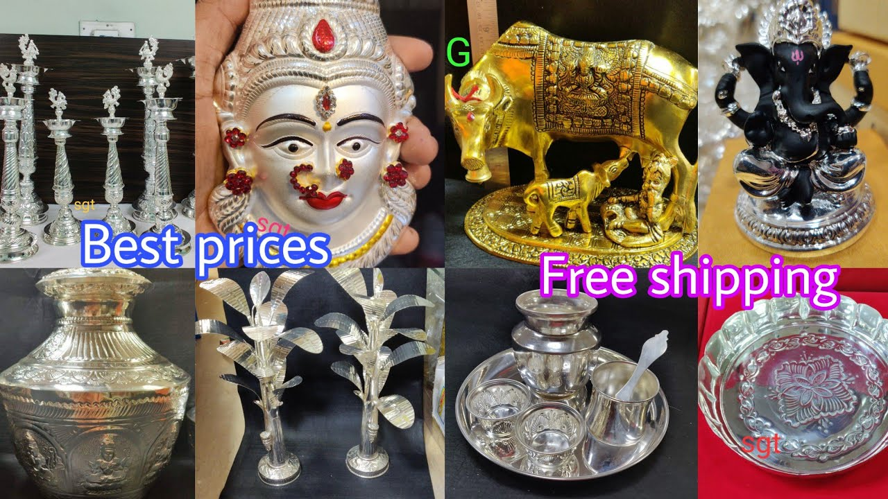 German Silver articles @Best prices|wholesale prices|Puja items&Huge gift articles for all occasions