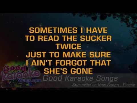 Big Blue Note - Toby Keith ( Karaoke Lyrics )