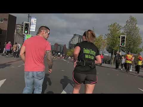 Birmingham Marathon 2017 Caroline Fletcher