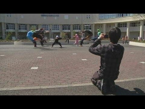 Dragon Ball meme: Japanese students take part in latest internet craze