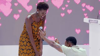 Brian Karuchi proposed to Maren after meeting the right  ||Hello Mr.Right