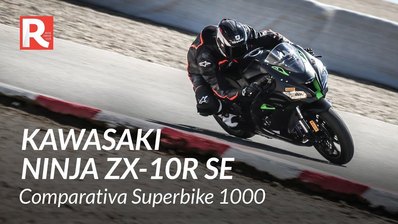 Kawasaki Ninja Zx 10r Se 2018 Prova In Pista Comparativa