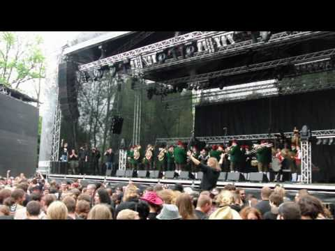 Trachtenmusikkapelle Mining (live @ Metalfest Austria 2010)