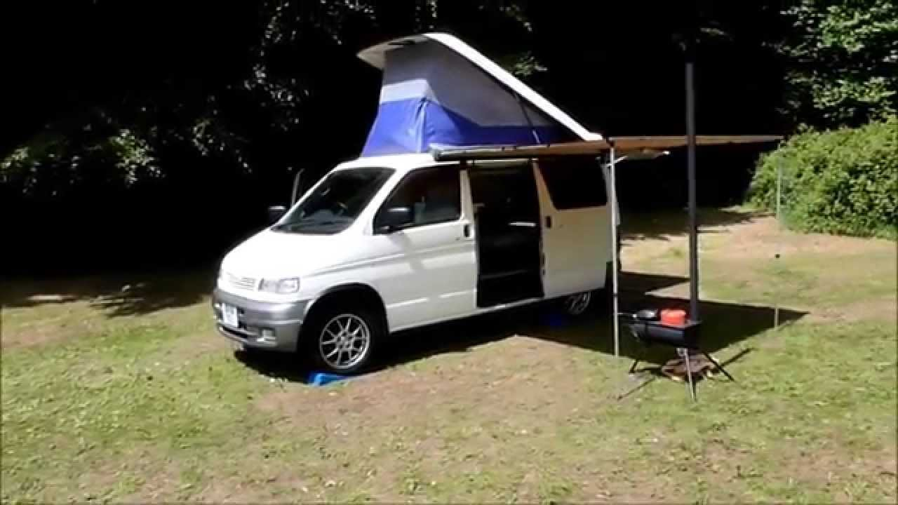 Mazda Bongo Custom Camper Campervan Conversion With Pop