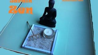 Manualidades, Como hacer un Jardín Zen Japones para Relajación.