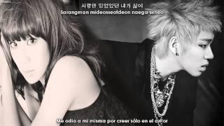 Hyorin ft. ZICO - Red Lipstick (립스틱 짙게 바르고) [Sub español + Hangul + Rom]