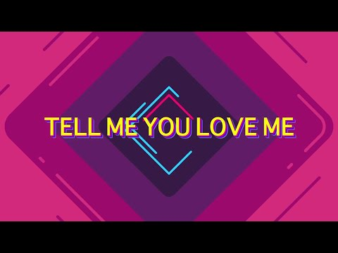 Galantis & Throttle - Tell Me You Love Me [Lyrics / Lyric Video]