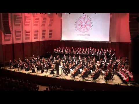 "Carl Orff. ""Carmina Burana"". Novosibirsk Philharmonic. Gintaras Rinkevicius"