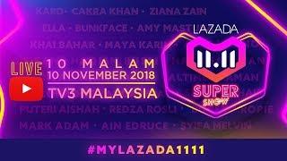 Download Video [LIVE] LAZADA 11.11 SUPER SHOW | #MYLazada1111 MP3 3GP MP4