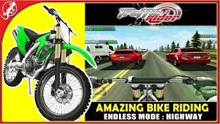 Traffic Rider Endless Mode : Riding My Bike Like Crazy On The Highway (ios Gameplay)