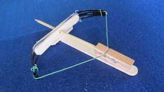 머리 핀을 사용하여 작은 석궁을 만들려면
