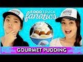 GOURMET PUDDING CHALLENGE?! Food Truck Fanatics w/ Merrell Twins